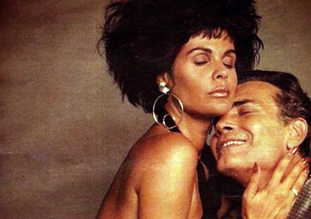 e a Evans (Diana) no erótico Eu, de Walter Hugo Khouri, 1987. No elenco estelar Cristiane Torloni (Beatriz), Bia Seidl (Berenice) e Nicole Puzzi (Lila). (Foto: divulgação)