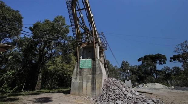 A mina de onde se retirou o ouro usado nas medalhas dos Jogos fica em Campo Largo, no Paraná, e é desconhecida de muitos moradores da cidade   (Foto: Agência O GLOBO / Alexandre Cassiano)