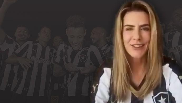 MONTAGEM - Maitê Proença Botafogo (Foto: Editoria de Arte)
