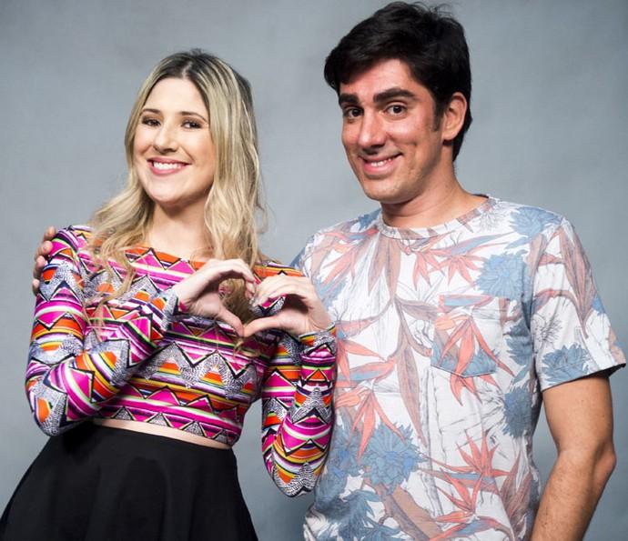 Dani Calabresa e Marcelo Adnet (Foto: Globo/João Miguel Júnior)