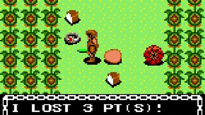 Dragon Crystal é um dos raros jogos estilo Rogue para os consoles 8 bits (Foto: Pocket Gamer)