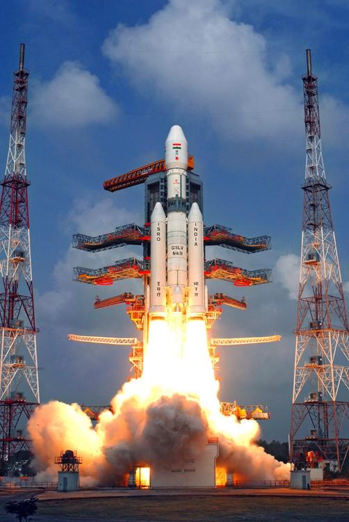 GSLV MK-III é o maior foguete desenvolvido na Índia até agora (Foto: ISRO/Divulgação)