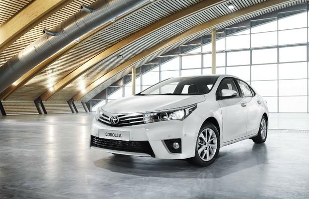 Toyota Corolla 2014 Europeu (Foto: Divulgação)