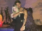 Tá rolando? Thalita Zampirolli posa agarradinha com Mister Niterói