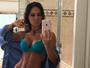 Mayra Cardi exibe barriga sarada e posta mensagem motivacional