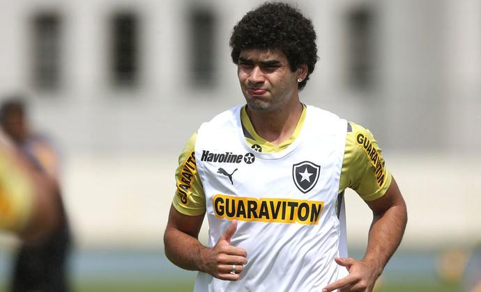 Bruno Mendes treino Botafogo engenhão (Foto: Satiro Sodré / SSPress)