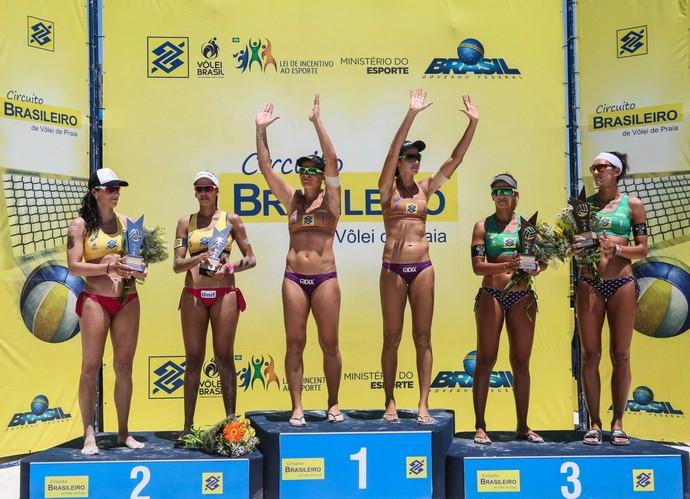 Circuito Brasileiro de Võlei de Praia de Aracaju - Larissa/Talita vence Duda/Ágatha (Foto: hana Reis/MPIX/CBV)