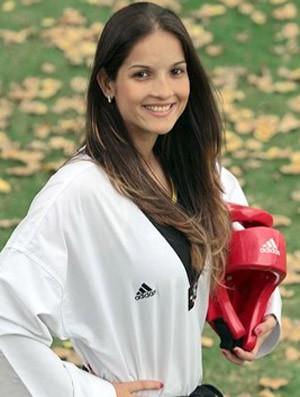 Raphaela Gallacho taekwondo (Foto: COB)