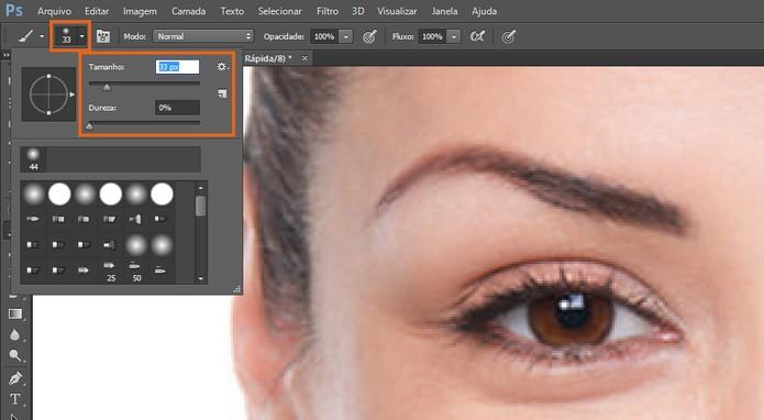 Personalize o tamanho do pincel no Photoshop (Foto: Reprodução/Barbara Mannara) (Foto: Personalize o tamanho do pincel no Photoshop (Foto: Reprodução/Barbara Mannara))