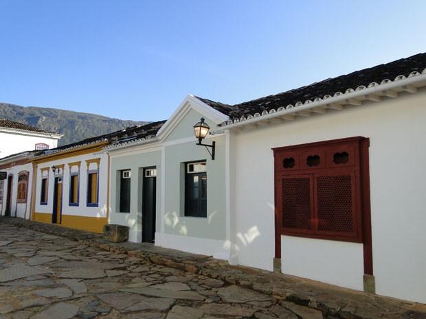 Tiradentes preserva inúmeros casarões históricos (Foto: Raquel Freitas/G1)