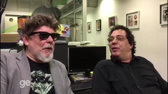 Casagrande fala com Branco Mello, dos Titãs, sobre o título do Palmeiras