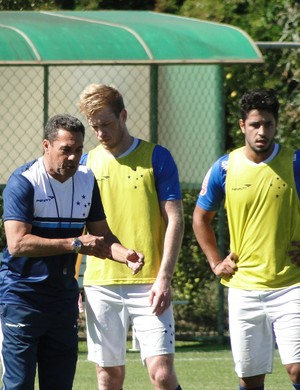 Vanderlei Luxemburgo, técnico do Cruzeiro (Foto: Tayrane Corrêa)