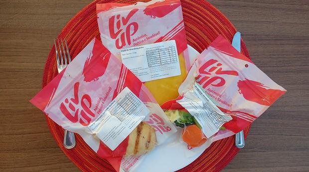 Livup, embalagem, comida (Foto: Divulgação)
