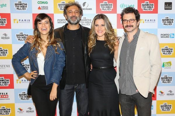 Ingrid Guimarães e Domingos Montagner lançam filme em São Paulo
