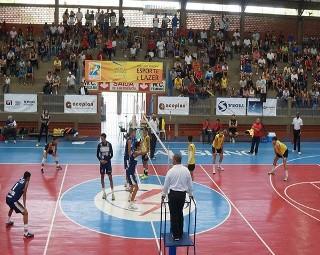Quatis venceu a final contra Resende no Intermunicipal Rio Sul de Võlei Masculino (Foto: Diego Gavazzi)