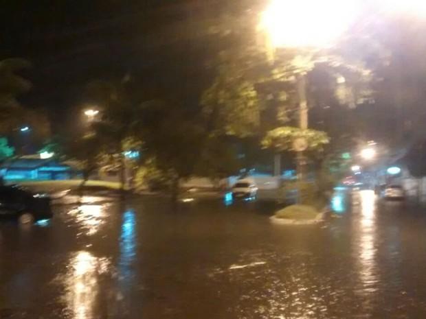 Apesar do estrago, ninguém ficou ferido após inundação (Foto: Elvis Magno dos Santos Ramos/ Arquivo Pessoal)