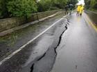 Rodovias têm bloqueio total devido à chuva forte no Rio Grande do Sul