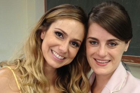 Aline Fanju e Alessandra Maestrini  (Foto: Divulgação)