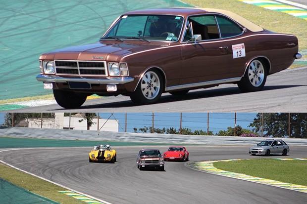 Duelo de marcas, Opala Comodoro, Cobra V8, Puma VW e Subaru. (Foto: Divulgação/Edison Guerra Sr)