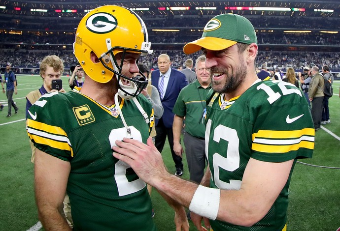 NFL green bay packers aaron rodgers mason crosby (Foto: Getty Images)