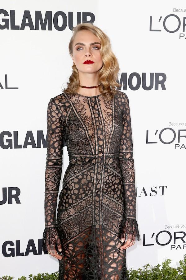 A atriz e modelo Cara Delevingne (Foto: Getty Images)