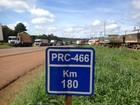 Sob pena de multa, caminhoneiros continuam com bloqueios no Paraná