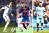 Montagem, Cristiano Ronaldo, Neymar e Aguero