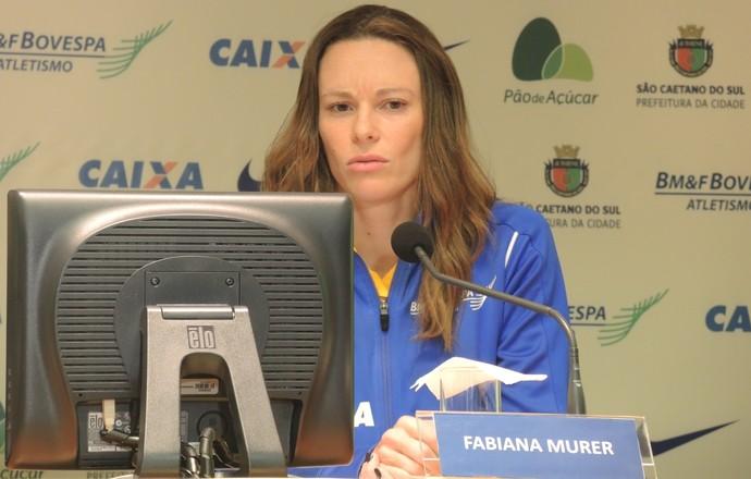 """Fabiana Murer anuncia fim da carreira e vira dirigente: """"Eu não compito mais"""""""