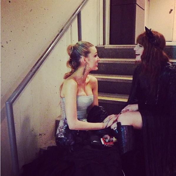 Blake Lively e Florence Welch (Foto: Reprodução/Instagram)