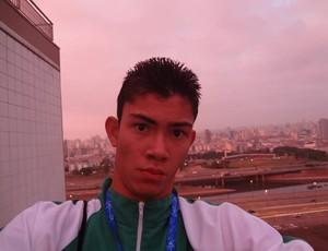 Rodrigo Parreira, para-atleta do CDDU Uberlândia (Foto: Divulgação/CDDU/Futel)