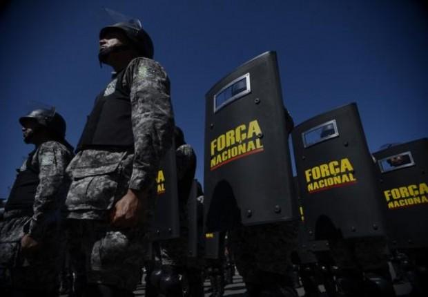 Soldados da Força Nacional atuaram na segurança dos Jogos Olímpicos no Rio (Foto: Fabio Rodrigues Pozzebom/Agência Brasil)