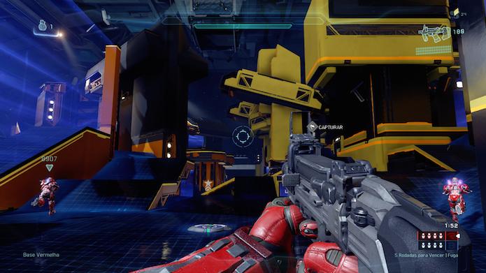 Multiplayer competitivo de Halo 5 é o maior destaque do game (Foto: Reprodução/Victor Teixeira)