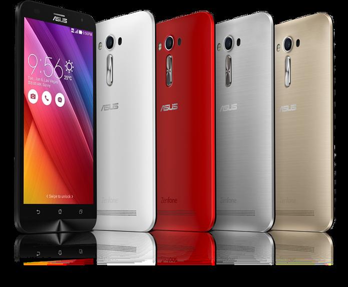Zenfone 2 Laser tem foco a laser para melhorar nitidez das imagens (Foto: Divulgação/Asus)