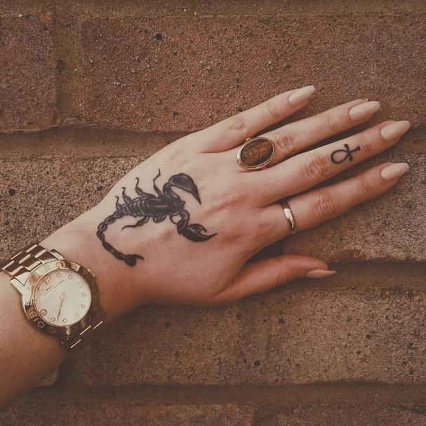 Escorpião (Foto: Reprodução/ Instagram @sisterserqet)