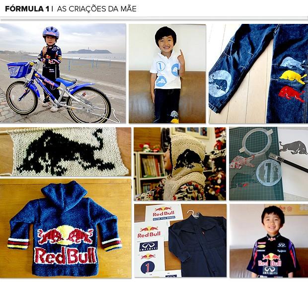 Mosaico Kotta criança roupas 2 (Foto: Editoria de Arte)