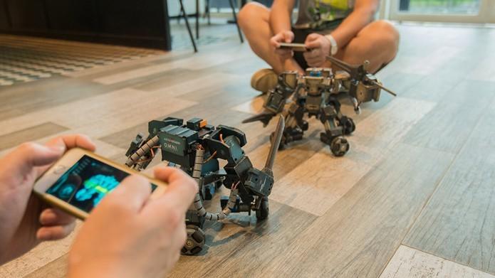 Ganker é um robô de luta personalizados pelo usuário (Foto: Divulgação/Ganker)