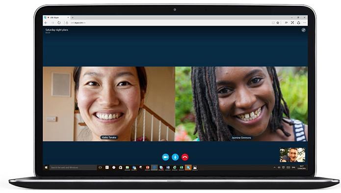 Microsoft atualiza Edge com suporte nativo ao Skype (Foto: Divulgação/Microsoft)