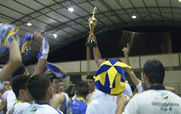 Constelação vence Campeonato Roraimense de Futsal na categoria adulto (Foto: Bom Dia Amazônia)