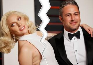 Lady Gaga e Taylor Kinney (Foto: Reuters)