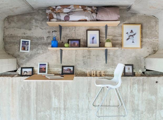arquiteto-constrói-escritório-flutuante-suspenso-na-espanha (Foto: Reprodução)