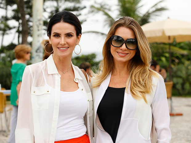 Lisandra Souto e Letícia Spiller (Foto: Salve Jorge/TV Globo)