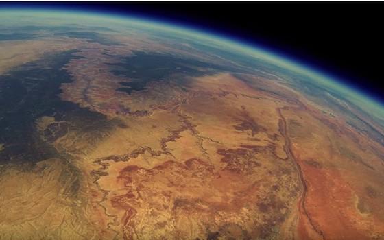 Visão espacial da câmera portátil (Foto: Reprodução/YouTube)