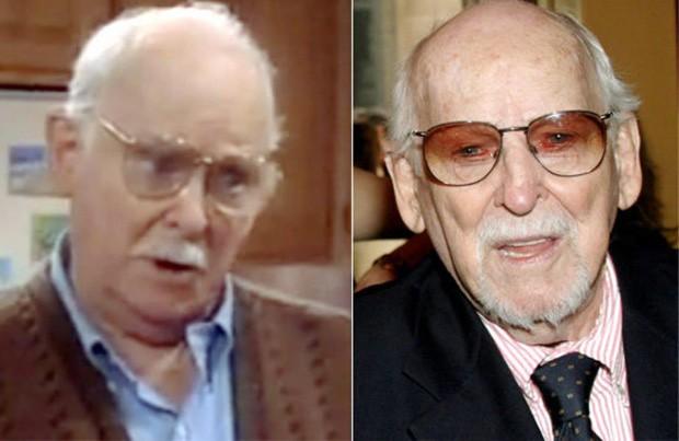 Buzz Richman, avô materno de Blossom, era vivido pelo ator Barnard Hughes, morto em 2006 aos 90 anos (Foto: Reprodução)
