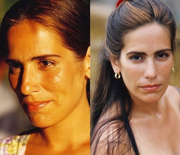 Gêmas de Ruth e Raquel, de 'Mulheres de Areia' (Foto: CEDOC/TV Globo)