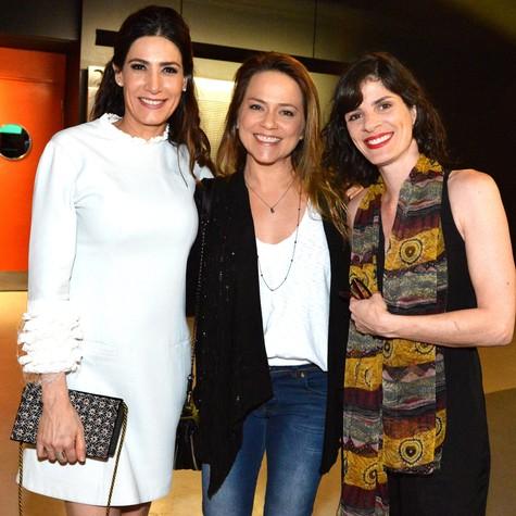 Virginia Cavendish, Vivianne Pasmanter e Isabel Guerón  (Foto: Cristina Granato)