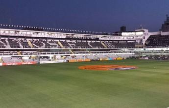 Santos vende ingressos para clássico contra o Palmeiras, na Vila Belmiro