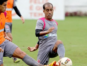 Felipe no treino do Vasco (Foto: Jorge William / Ag. O Globo)