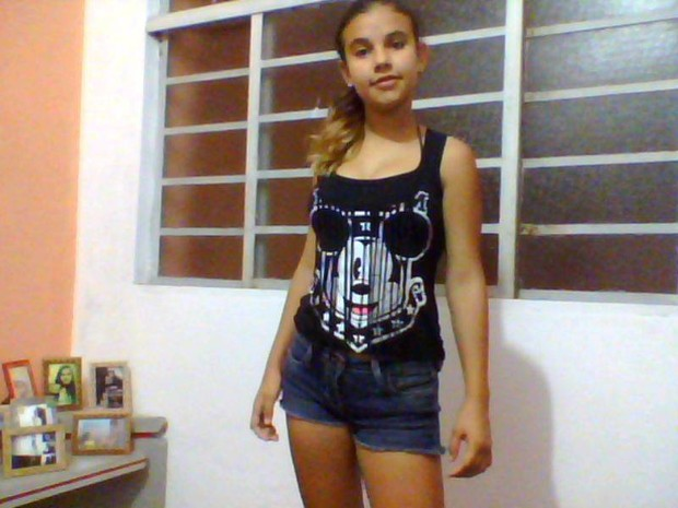 Adolescente de 13 anos foi atropelada na calçada em Piracicaba (Foto: Bionda Lazaro/arquivo pessoal)
