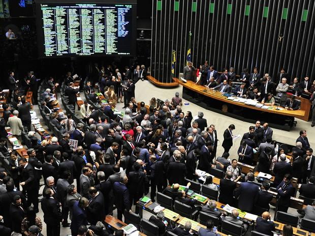 Votação da PEC 241 na Câmara dos Deputados (Foto:  Luis Macedo/Câmara dos Deputados)