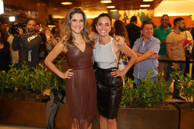 Ingrid Guimarães e Alice Braga  (Foto: Manuela Scarpa/Brazil News)